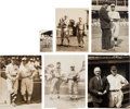 Baseball Collectibles:Photos, Circa 1920 Roger Bresnahan Photographs Lot of 6....