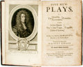 Books:Literature Pre-1900, Robert Howard [& John Dryden]. Five New Plays, Viz. TheComedies. And The
