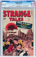 Silver Age (1956-1969):Horror, Strange Tales #97 (Marvel, 1962) CGC VG 4.0 Off-white to whitepages....