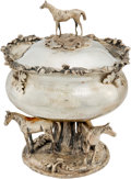 Miscellaneous Collectibles:General, 1968 Belmont Stakes Winner's Trophy Presented to Jockey Heliodoro Gustines....