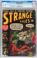 Golden Age (1938-1955):Horror, Strange Tales #12 (Atlas, 1952) CGC VG- 3.5 Cream to off-whitepages....