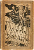 Books:Literature 1900-up, Lewis Carroll. The Hunting of the Snark. London: Macmillan,1876. First edition. Original cloth binding. Ffep detach...