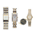 Timepieces:Wristwatch, A Lot Of Three Wristwatches. ... (Total: 3 Items)