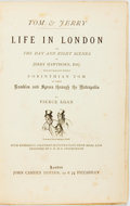 Books:Literature Pre-1900, [George Cruikshank, illustrator] Pierce Egan. Life in Londonor The Day and Night Scenes of Jerry Hawthorn, Esq. a...