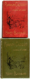 Books:Biography & Memoir, Henry Blackburn. Randolph Caldecott: A Personal Memoir of HisEarly Art Career. Includes one American and one Britis...(Total: 2 Items)