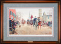 Art, Mort Künstler. Lee at Fredericksburg (1990). AP3 of 50. 28x17.Accompanied by certificate of authenticity. Lee and Longstr...