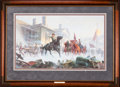 Art, Mort Künstler. Shenandoah Sunrise (1993). AP22 of 75. 28x17.Accompanied by certificate of authenticity. Gen. John B. Gord...