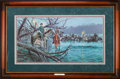 Art, Mort Künstler. Night Crossing (1995). AP22 of 100. 28 x 15. Accompanied by certificate of authenticity. Lee and Jackson cr...