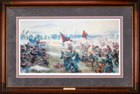 Mort Künstler The High Water Mark (1988) AP9 of 50 15x28 Accompanied by certificate of authenticity