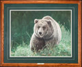 Art, Charles Fracé. Unrivaled. SN245 of 2500. 22x29. Accompanied bycertificate of authenticity. Grizzly Bear, Very Good Condit...