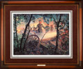Art, Mort Künstler. Eye of the Storm (1991). AP22 of 50. 23x17.Accompanied by certificate of authenticity. Patrick Cleburne at...