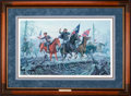 Art, Mort Künstler. The Fight at Fallen Timbers (1991). AP22 of 50.25x15. Accompanied by certificate of authenticity. Col. Nat...