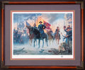 Art, Mort Künstler. On to Richmond (1991). SN558 of 1000. 23x16.Accompanied by certificate of authenticity. Gen. Grant in the ...