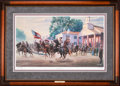 Art, Mort Künstler. Morgan's Ohio Raid (2003). AP22 of 95. 29x17.Accompanied by certificate of authenticity. Gen. John H. Morg...