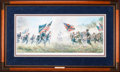 Art, Mort Künstler. With a Rebel Yell (2002). AP22 of 95. 30x12.Accompanied by certificate of authenticity. Charge at Second M...