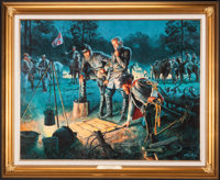 Mort Künstler The Last Council (2004) 22 of 35 32x25 Accompanied by certificate of authenticity  Ma