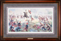 Art, Mort Künstler. The Grandest Charge Ever Seen (1990). AP2 of 50.48x26. Accompanied by certificate of authenticity. Gen. Wi...