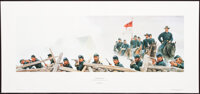 """Mort Künstler """"Hold at All Cost!"""" (1993) SN687 of 950 28x10 Accompanied by certificate of authenticity"""