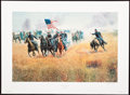 Art, Mort Künstler. Dilger at Gettysburg (1989 ). SN553 of 950. 24x16.Accompanied by certificate of authenticity. Capt. John H...