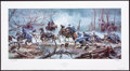 "Art, Mort Künstler. The ""Mud March"" (2006). AP22 of 100. 30x13.Accompanied by certificate of authenticity. Fredericksburg, Vir..."