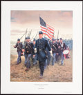 Art, Mort Künstler. Chamberlain and the 20th Maine (1995). AP 44 of 100.13x15. Accompanied by certificate of authenticity. At ...