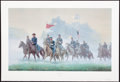 Art, Mort Künstler. Morning Riders (1993). SN725 of 1500. 28x17.Accompanied by certificate of authenticity. Gen. John Buford, ...