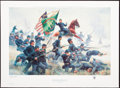 "Art, Mort Künstler. ""Raise the Colors and Follow Me!"" (1991). SN589 of1700. 25x16. Accompanied by certificate of authenticity. ..."