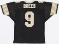 Football Collectibles:Uniforms, Drew Brees Signed New Orleans Saints Jersey....