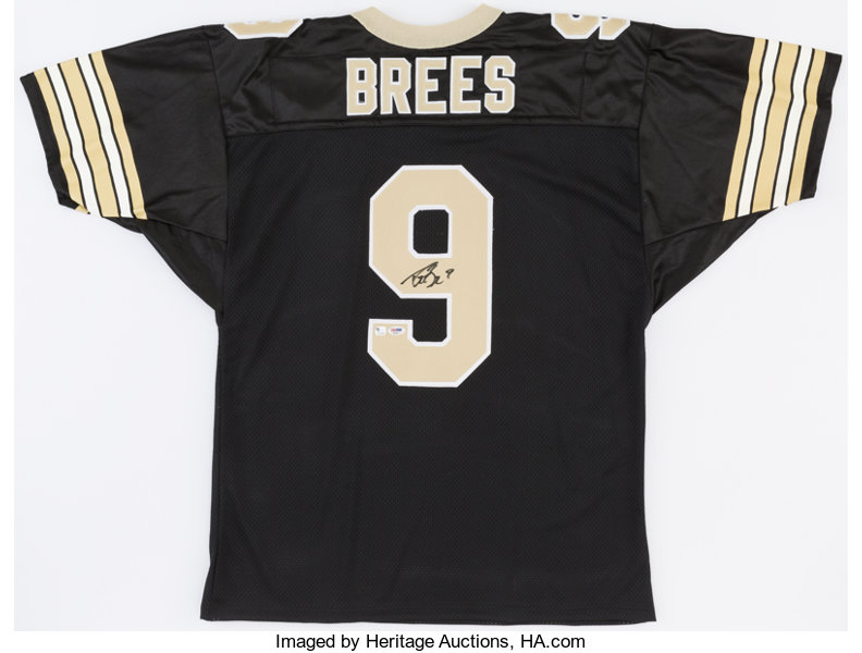 Drew Brees Signed New Orleans Saints Jersey.... Football  870def9c8