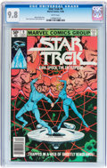 Modern Age (1980-Present):Science Fiction, Star Trek #9 (Marvel, 1980) CGC NM/MT 9.8 White pages....