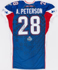 Football Collectibles:Uniforms, Adrian Peterson Signed Pro Bowl Jersey....
