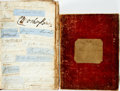Autographs:Non-American, Two Books of Miscellaneous Autographs. Primarily includes British government officials of the late-19th century as well as o... (Total: 2 Items)