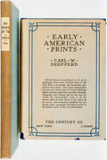 Books:Art & Architecture, Pair of Books on Early American Art. Various publisher's and dates. ... (Total: 2 Items)
