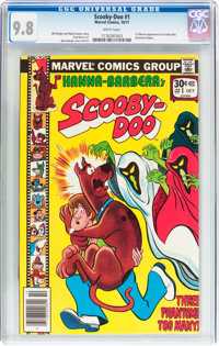 Scooby-Doo #1 (Marvel, 1977) CGC NM/MT 9.8 White pages