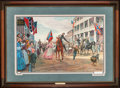 "Art, Mort Künstler. General Thomas J. ""Stonewall"" Jackson (1988). SN471of 750. 29x18. Accompanied by certificate of authenticity..."