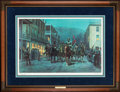 "Art, Mort Künstler. ""Stonewall"" Jackson at Harpers Ferry (1992). AP15 of 50. 26x17. Accompanied by certificate of authenticity. ..."