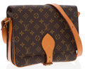 Luxury Accessories:Bags, Louis Vuitton Classic Monogram Canvas Cartouchiere MM Bag. ...