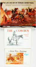 Books:Art & Architecture, [Western Art]. Group of Three Books on Western Art. Various Publishers and dates. ... (Total: 3 Items)