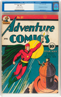 Adventure Comics #61 (DC, 1941) CGC VG- 3.5 Cream to off-white pages