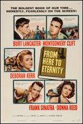 "Movie Posters:Academy Award Winners, From Here to Eternity (Columbia, 1953). One Sheet (27"" X 41"").Academy Award Winners.. ..."
