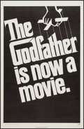 """Movie Posters:Crime, The Godfather (Paramount, 1972). One Sheet (27"""" X 41"""") Advance.Crime.. ..."""