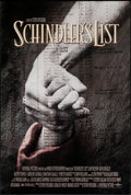 """Movie Posters:Drama, Schindler's List (Universal, 1993). One Sheet (27"""" X 40"""") DS.Drama.. ..."""