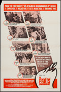 """Movie Posters:War, Is Paris Burning? and Other Lot (Paramount, 1966). One Sheets(2)(27"""" X 41""""), Lobby Card Set of 8 (11"""" X 14"""") and Press Book...(Total: 9 Items)"""