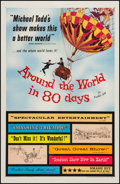 "Movie Posters:Adventure, Around the World in 80 Days (United Artists, 1956). One Sheet (27""X 41""). Adventure.. ..."