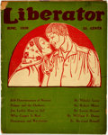 Books:Periodicals, [Political Periodical] Liberator. 1920. Original wrappers.Textblock toned, with chipping to edges. Some closed tear...