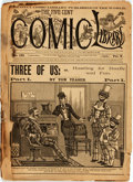 Books:Periodicals, [Periodical] The Five Cent Comic Library, Vol. V, No.131. New York: Frank Tousey, 1896. Self-wrappers. ...