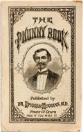 Books:Americana & American History, [Americana] The Phunny Book. Dr. Ephriam Muggins,[1875-1876]. Original self-wrappers. Scattered foxing to lastpage...