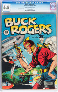 Golden Age (1938-1955):Science Fiction, Buck Rogers #1 (Eastern Color, 1940) CGC FN+ 6.5 Cream to off-white pages....