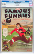 Platinum Age (1897-1937):Miscellaneous, Famous Funnies #15 (Eastern Color, 1935) CGC VF 8.0 Off-whitepages....