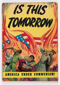 Is This Tomorrow #1 (Catechetical Guild, 1947) Condition: GD